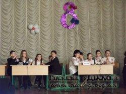 Літературний КВК серед учнів 6-х класів.