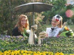 Урочисте відкриття «Фонтану закоханих» та клумби у парку