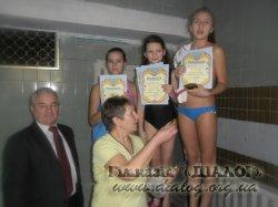 Чемпіонат з плавання серед учнів 6-их класів