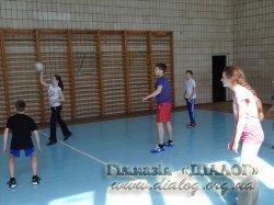 """Змагання серед учнів 7-х класів з гри """"Піонербол"""""""