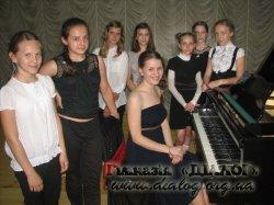 Концерт фортепіанної музики в гімназії