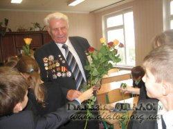Зустріч з ветераном Філоненко П.О.