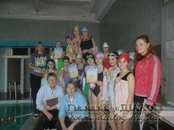 Змагання з плавання серед учнів 6-7-х  класів