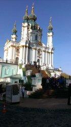 Екскурсія 8-А класу історичним центром Києва