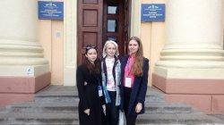 Вітаємо переможниць  ІІІ етапу Всеукраїнського конкурсу-захисту дослідницьких робіт учнів-членів МАНУ!