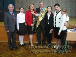 Зустріч з чемпіоном світу з фехтування Юрієм Чижем