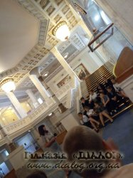 6-Б клас здійснив екскурсію до Верховної Ради України
