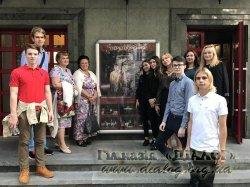 Одинадцяті класи відкрили театральний сезон