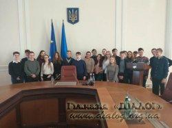 Екскурсія 9-В класу до Будинку Уряду України