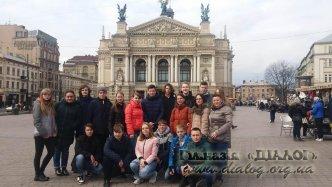 Подорож учнів 10-В та 9-В класів до Львова