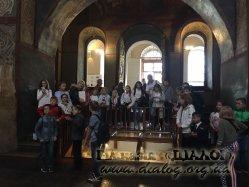 Екскурсія 5-В класу до Національного заповідника «Софія Київська»